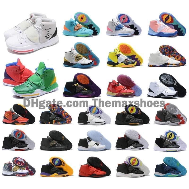 2020 Мальчики Кирие VI Mens Горячие Баскетбольная обувь Ирвинг 6S 6 Девушки Женщины 11 Увеличить Спорт Кроссовки 40-46
