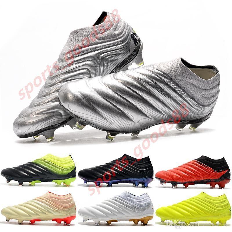 Новый Copa Прибытие 20 FG Mens обувь 19 Черный Mercurial Superfly бутсы Мальчики Открытый Mundial Футбол Бутсы Обувь EF8309