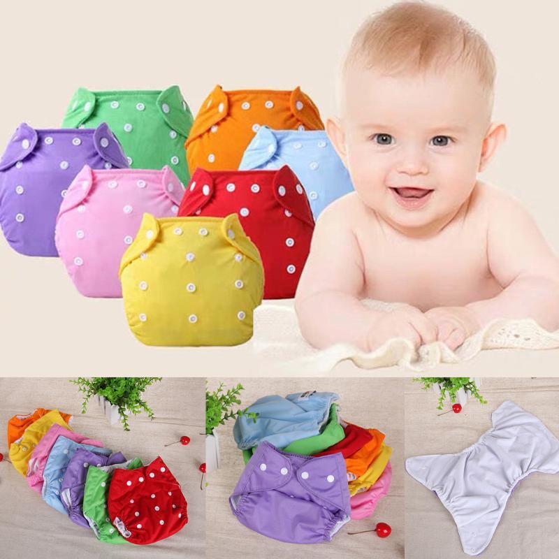 Pannolini per pannolini Baby Kid Born Nato Pannolini riutilizzabili Pannolino regolabile lavabile per bambini