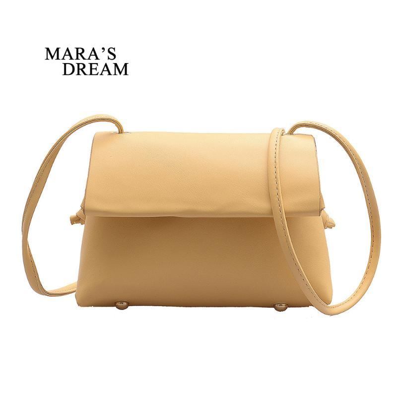 Pequeño sueño 2020 Bolsa literaria Sólido Wild Fashion Simple Mara's Sobre Summer Square Bag Color Nuevo Retro AQMTP