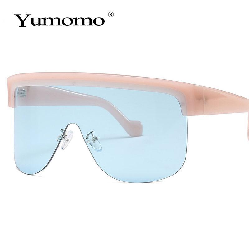 Moda de lujo marco marco mujer diseñador grande gafas de sol protección gafas de sol UV marca de gran tamaño THBSN