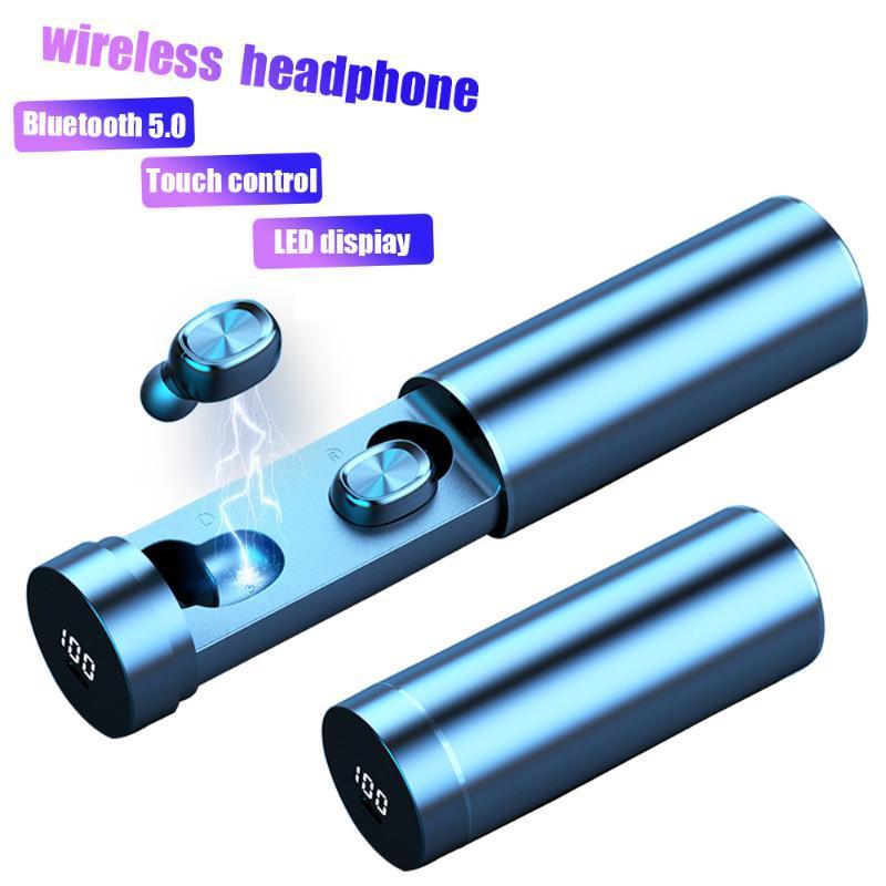 B9 drahtlose Bluetooth 5.0 Kopfhörer 8D Stereo Bass headest mit LED-Display-Kopfhörer Sport Musik auriculares