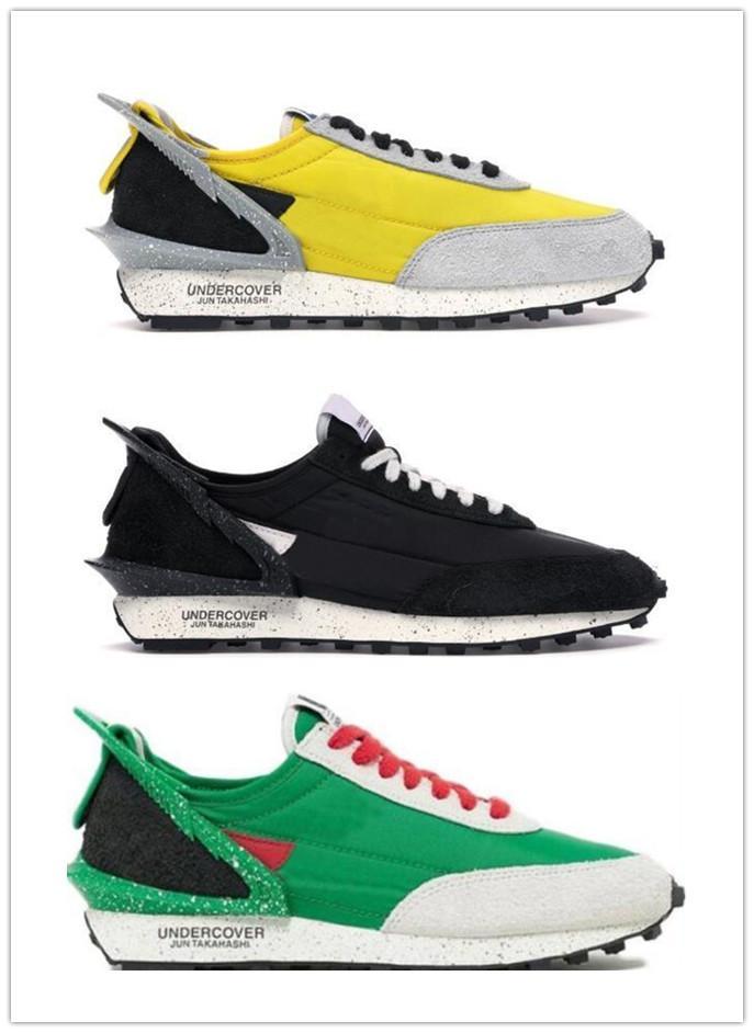 Daybreak Undercover Chaussures de course pour Hommes Femmes Wmns Dbreak Noir Voile Bleu clair Citron Jaune Obsidian Athletic Trainers Tennis Chaussures de sport