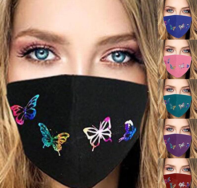 Personalidade Shiping Children Impressão lavável gratuito 3d adulto Máscara Anti-pó Moda Via respirável cara borboleta para Designer Netot