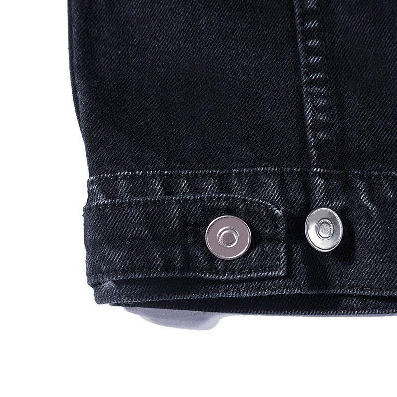 19ss Giacca di jeans uomini di alta qualità casuale delle donne cappotti Nero Blu Moda Uomo Stylist Jacket Uomo Abbigliamento taglie M-XXL