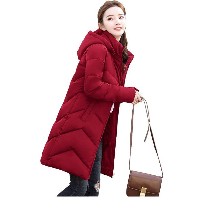 New Parkas Female Plus size 6XL Women Winter Coat Thick Cotton Winter Jacket Womens Outwear Parkas for Women down jacket