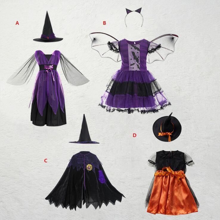 Halloween vestiti per bambini cosplay prop costume europeo e bambini americani di Cosplay del fumetto ruolo costume strega giocare i costumi di Halloween