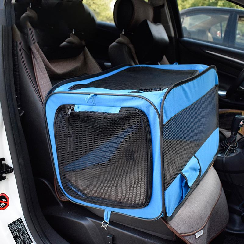 Pet Carriers Dog Car Transport Box Cage Dog Carrying Transportin Folding Pet Tent Cage Cat Tent Playpen Pets Carry Bag