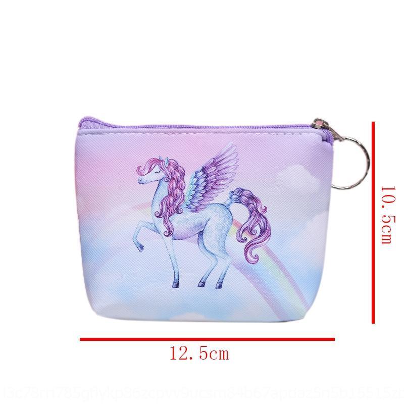 Корейский мультфильм хранение косметического единорога косметический мешок для хранения большой емкости портативных ручного водонепроницаемого путешествие портативного мешок мытья lijwM