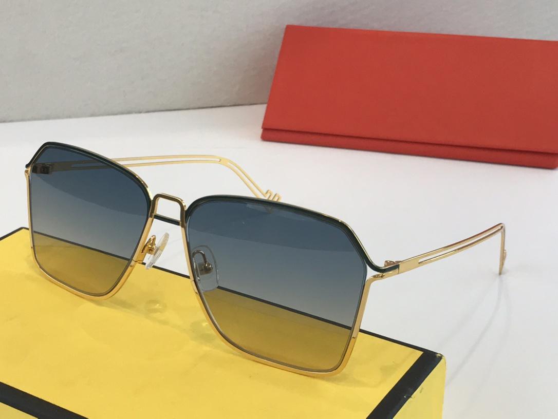 2020 Designer-Sonnenbrille Art und Weise hohe Qualität Sonnenbrille Sonnenbrille Mann Luxus Frau mit Box 20091502Z