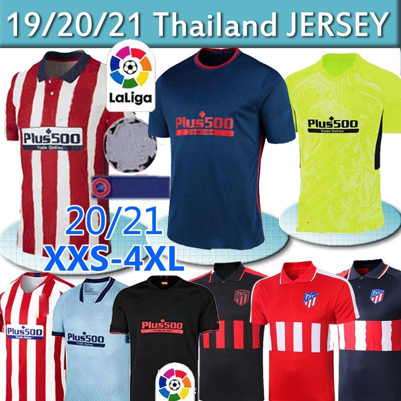 20 21 جواو فيليكس أتلتيكو مدريد لكرة القدم الفانيلة 2019 2020 KOKE DIEGO COSTA GRIEZMANN camiseta دي فوتبول لورينتي لكرة القدم البلوزات الرجال طفل