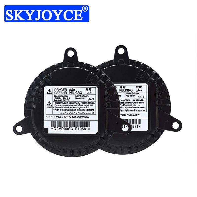 SKYJOYCE OEM Quality D1S D1R Xenon Ballast 12V 35W D1 HID Xenon Reactor GAVD00G31P10581 For Auto Headlight Kit Car Accessories