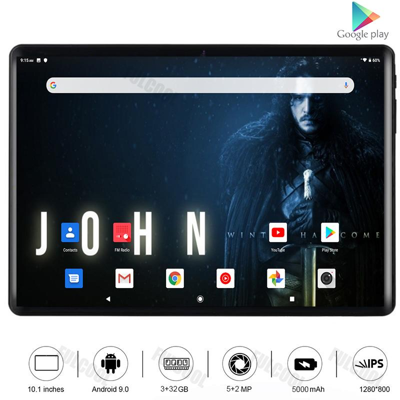 Tablet PC Android 10 Inch 4G LTE Type-C Octa Core Tablets 3GB RAM 32GB Dual SIM Card Wifi 9.0 10.1+ 64GB TF
