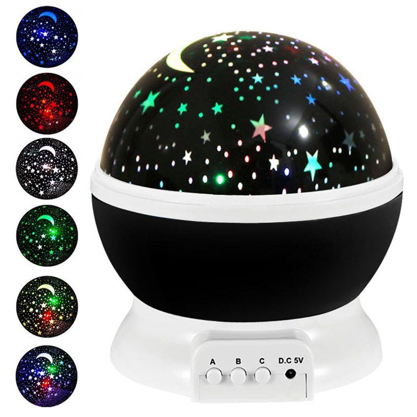 나이트 라이트 프로젝터 램프 별이 빛나는 하늘 LED 프로젝터 어린이 키즈 베이비 슬립 LED 프로젝션 램프 파티 장식 바다 선박 GGA3710
