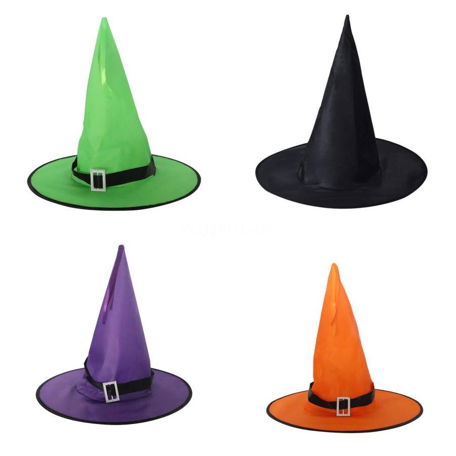 2020 Yeni Balo Cadılar Bayramı Şapkalar Casquette Unisex İlkbahar Sonbahar Snapback Marka Sihirbazı Cadılar Bayramı Hat İçin Erkekler Kadınlar Moda Spor Futbol Desi # 582