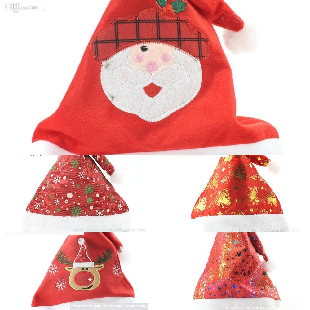0IU3T Jazz Hats Female Fashion snowflake Flash Colorful Dance Male Santa Claus And Glow Club Party Cap Hip Hop Cap Christmas GiftZj R