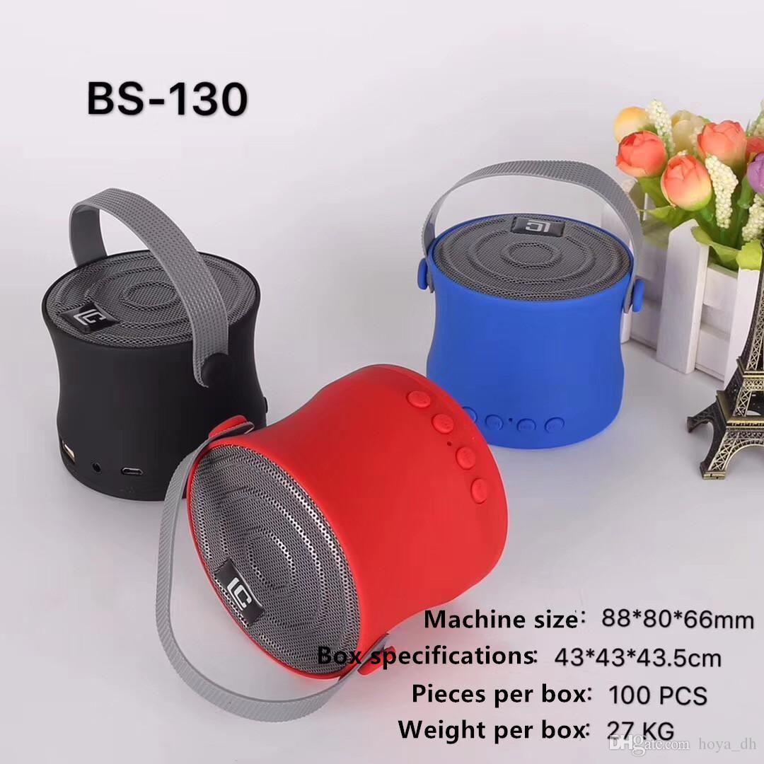 LC-BS130 altavoces portátiles Mini regalos de Navidad de cubo Bluetooth altavoces de alta calidad al aire libre de portátiles para el envío libre