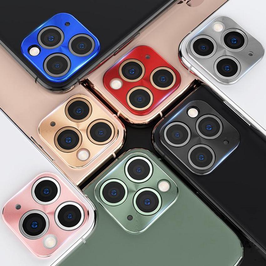 Yüksek Kaliteli Metal İnce Kamera Lens Koruma için Iphone 11 11 Pro 11 Pro Max dayanıklı Çizilmeye dayanıklı Kamera Lens Koruma Wear
