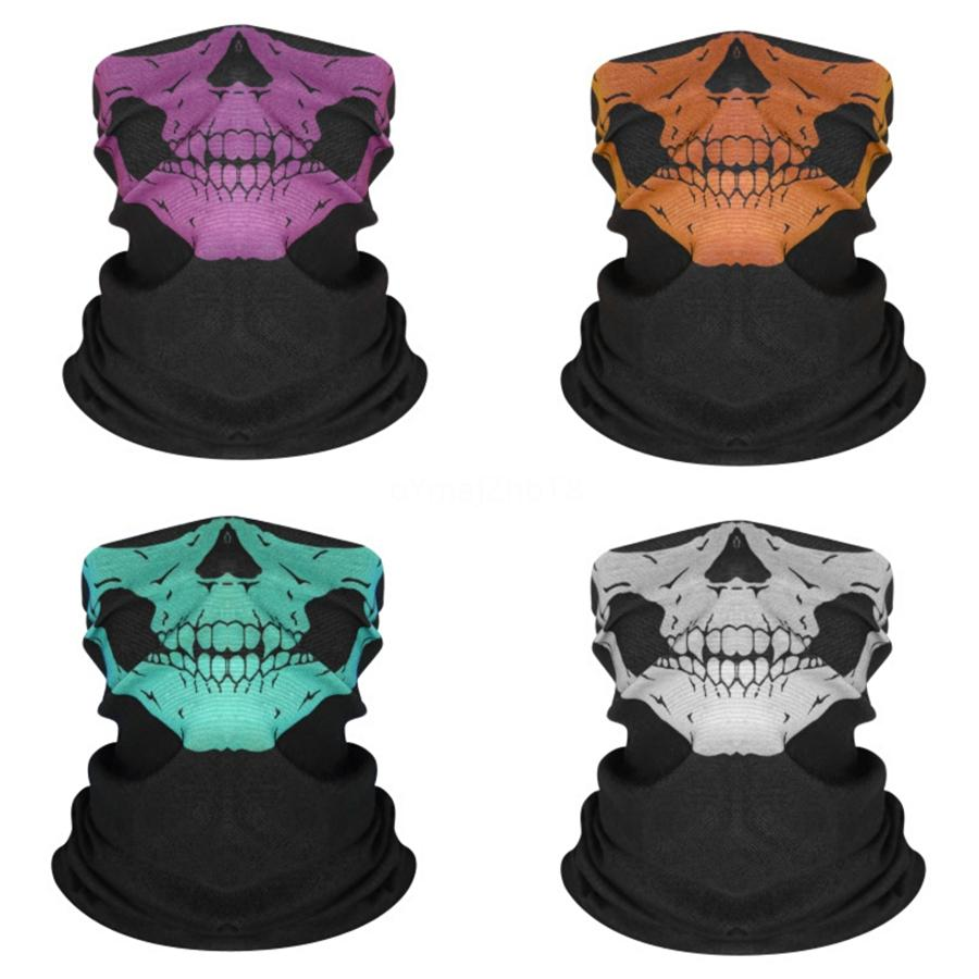 Festival Duman Maskeler Sihirli Eşarplar Motosiklet Bisiklet Yarım Yüz Maskesi Hayalet Kafatası Eşarp Çoklu Kullanım Boyun Hayalet Yarım Yüz # 214 # 265 yazdırma