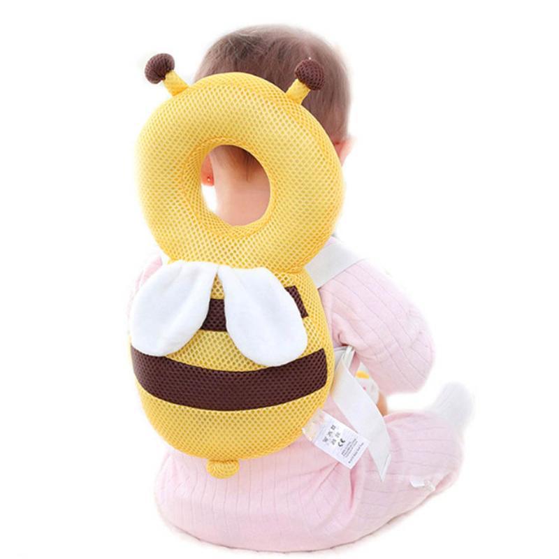 2020 Nouvelle arrivée Coton Cartoon animal bébé Protection de la tête Tapis enfant en bas âge Oreiller mignon Sac à dos Mat