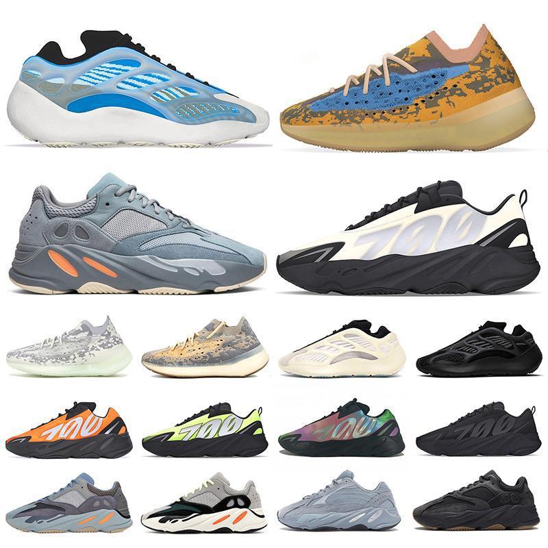 2020 Azareth 700 v3 kanye west dos homens tênis Alvah Azael Osso 380 azul Aveia Névoa mens estrangeiro mulheres esportes tênis Chaussures Zapatos