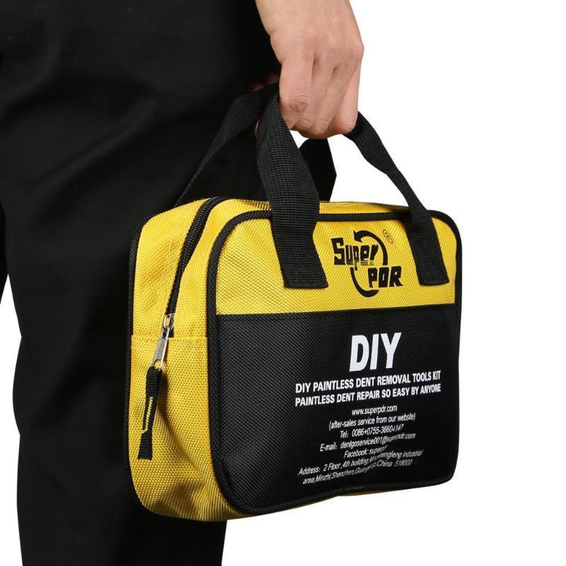 Переносной инструмент сумка для Авто DIY Супер PDR инструмента Сумка для протяжки Bridge Slide Молоток Дент Ремонт Инструментов Авто Сумка Отвертка