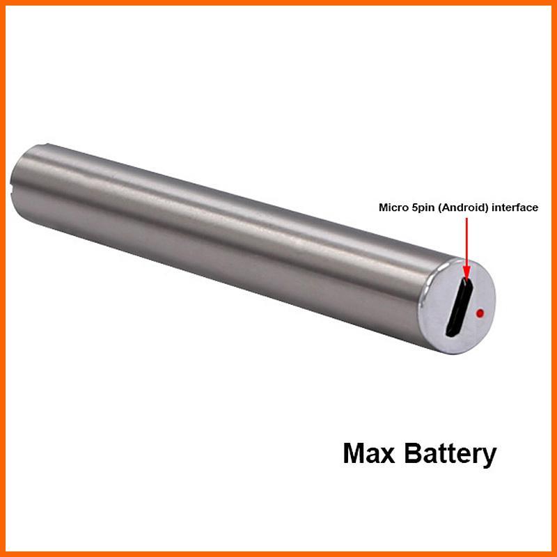 Authentische Amigo Max Vorwärmen Batterie 380mAh OEM Variable Spannung Bottom Ladung 510 Vorwärmen Batterie dicke CO2-Öl-Verdampfer-Stift-Kartuschen