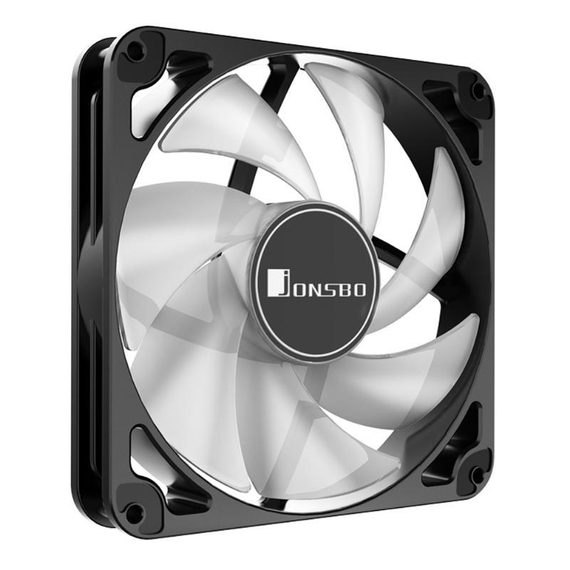 JONSBO FR140S 14cm Computer Case Cooling Fan 5V 3 Pin ARGB 4 Pin PWM Gorgeous Quiet PC Chassis Cooler Radiator