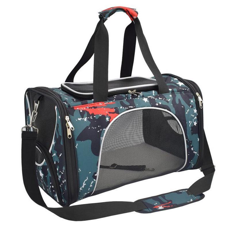 Borsa Carrier Piccolo Zaino morbido Messenger Travel Travel Cat Handbag Lato traspirante Pet Dog Portatile in uscita SXFWP Ladde