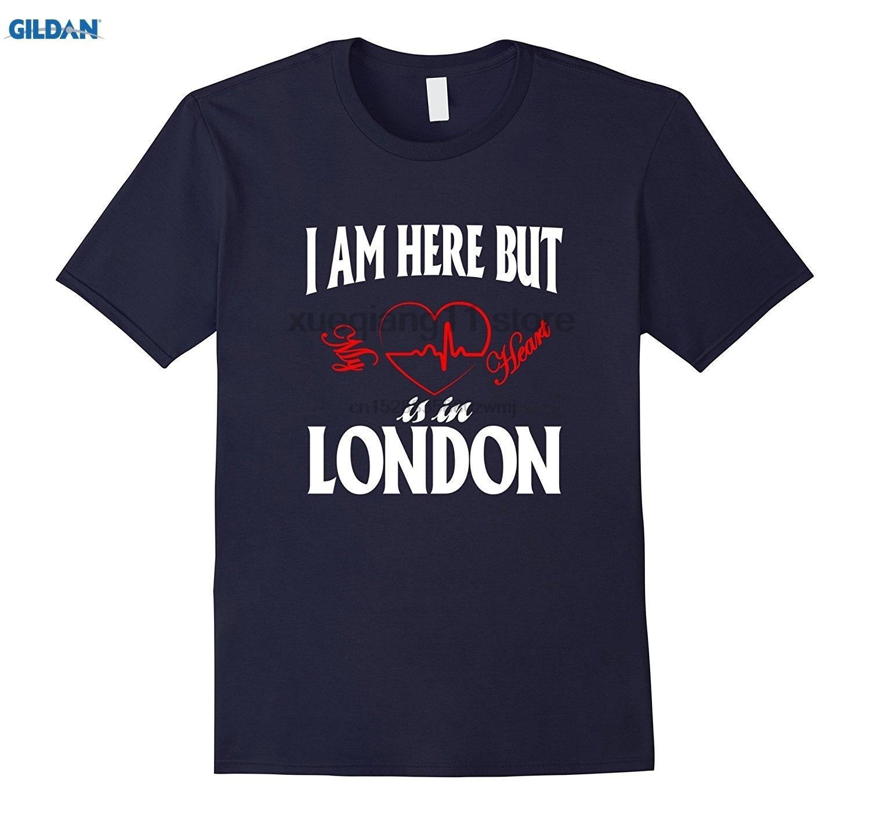 Buradayım ama kalbim Londra t gömlek olduğunu