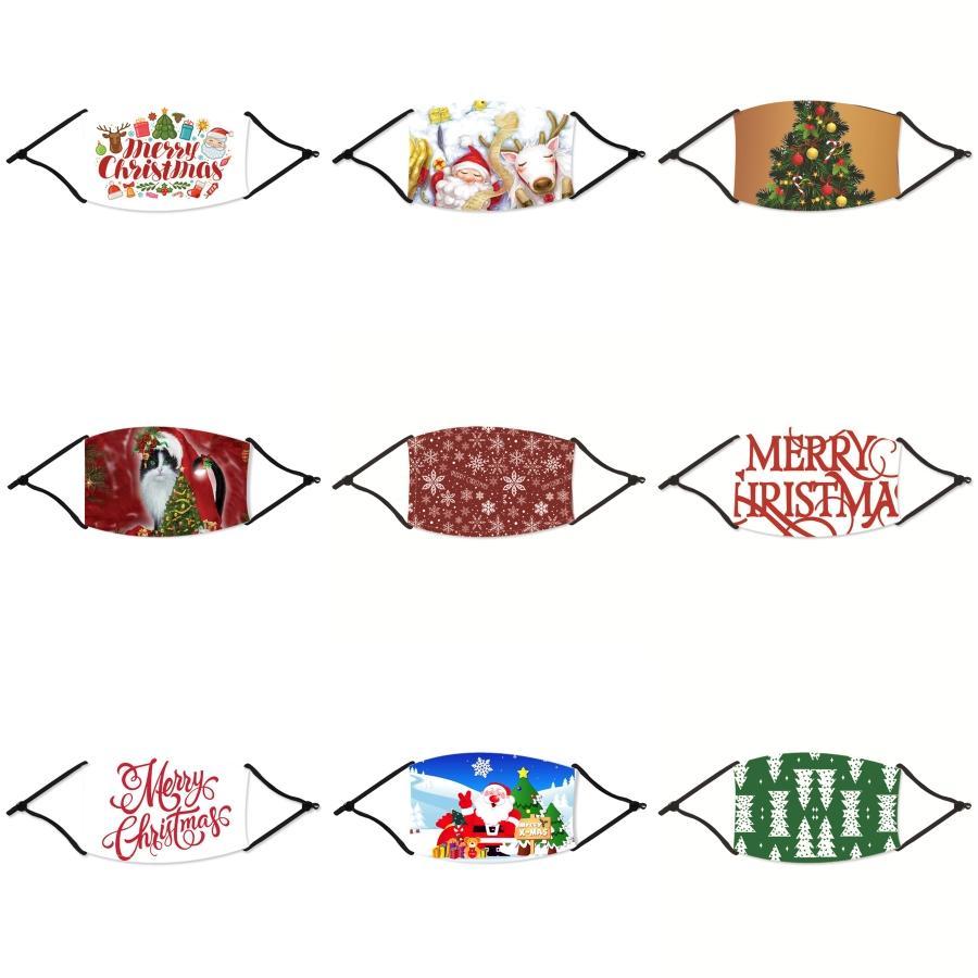Beste Qualität 2020 Im Lager schnellen Schiff Kinder und Gesicht Weihnachtsmasken mit Atemventil 3-Schicht-Modedesigner Weihnachten Maske Staubdichtes # 266