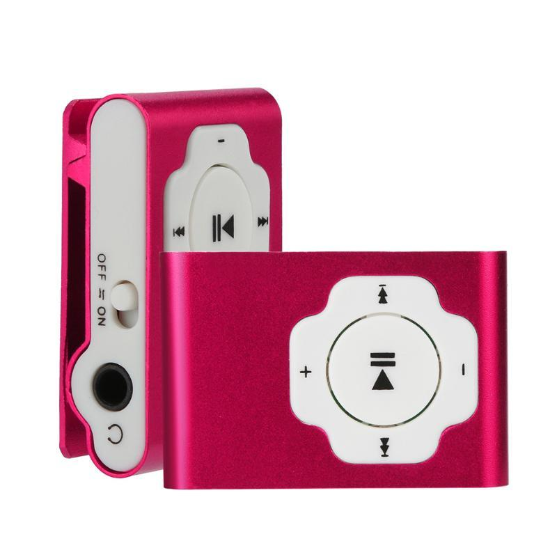 NEW Promotion Portable MP3 player Mini Clip MP3 Player Waterproof Sport Music Walkman Lettore