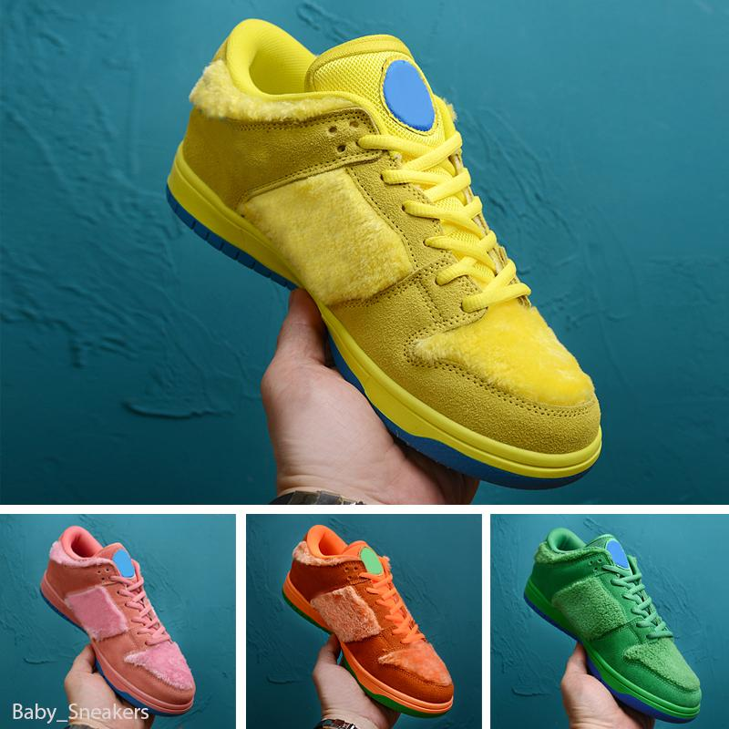Grateful Dead x Nike SB Dunk Low 2020 HOT nuovi arrivi Bears delle donne degli uomini Chunky Dunky scarpe VALENTINO ACG Terra pattino fuori Parigi in esecuzione scarpe