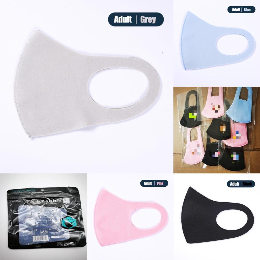 Dhl 042usd Versand Same Erwachsener Gesicht Waschbar Designer End Bandanas Tag Verpackung Hoch Ice Motorrad wiederverwendbare Silk Kid Xkxyu Maske