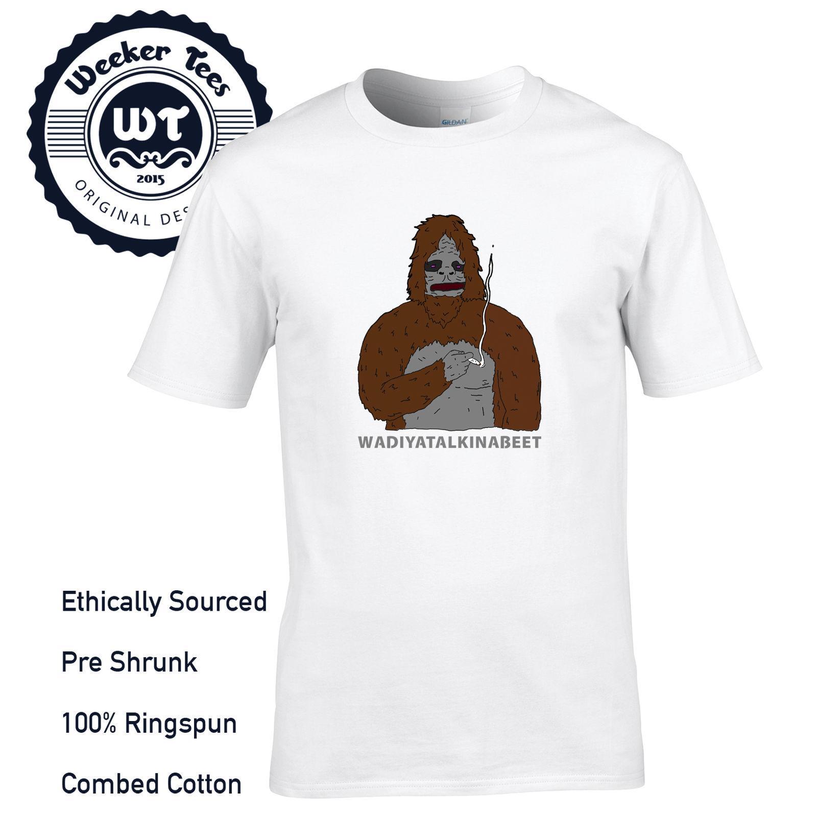 Sassy Le Sasquatch Tribute T-shirt Big Voir de Whatcha drôle Lez Mens S M L XL XXL imprimé t-shirts personnalisés, hip hop tee drôle