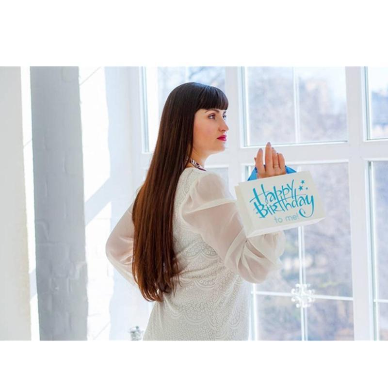 Персонализированный мешок бумаги с атласной лентой 20x14x7 см Пользовательского маленький бумажный мешок для подарка дела, событие, партия, подарок на день рождения