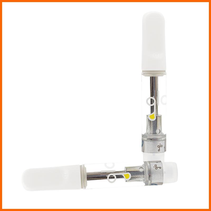 GLO Vape cartuccia Vaporize 1,0 ml Vaporize atomizzatore sigaretta elettronica atomizzatore cartuccia penna Vape atomizzatore vuoto Vape ceramica Coil Carrello