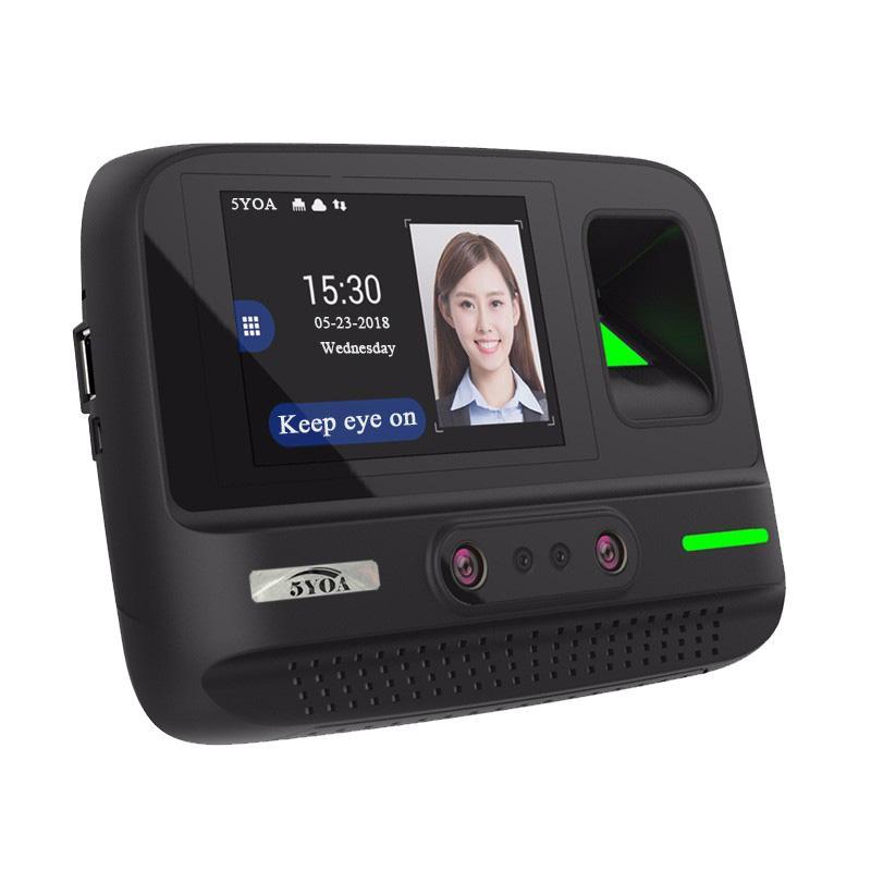 بصمات الأصابع التحكم في الوصول AF4 وقت الحضور WiFi نظام الإدارة اللاسلكية مواجهة كلمة المرور جهاز التعرف على الوجه البيومترية