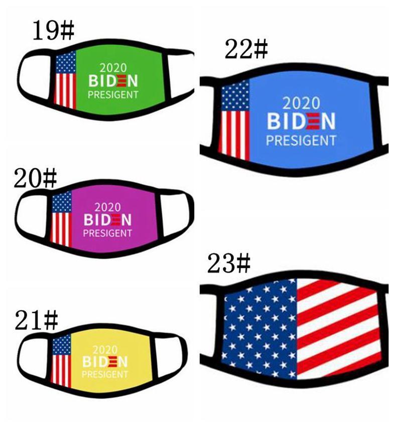 Supplies Trumpf Joe Biden amerikanische Wahl-Flagge Mund Gesichtsmasken DHE68