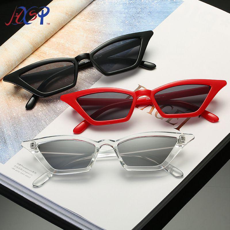 Gato óculos de sol mulheres quadro pequeno qualidade óculos de sol vintage máscaras eyewear street uv400 óculos top mjsmj