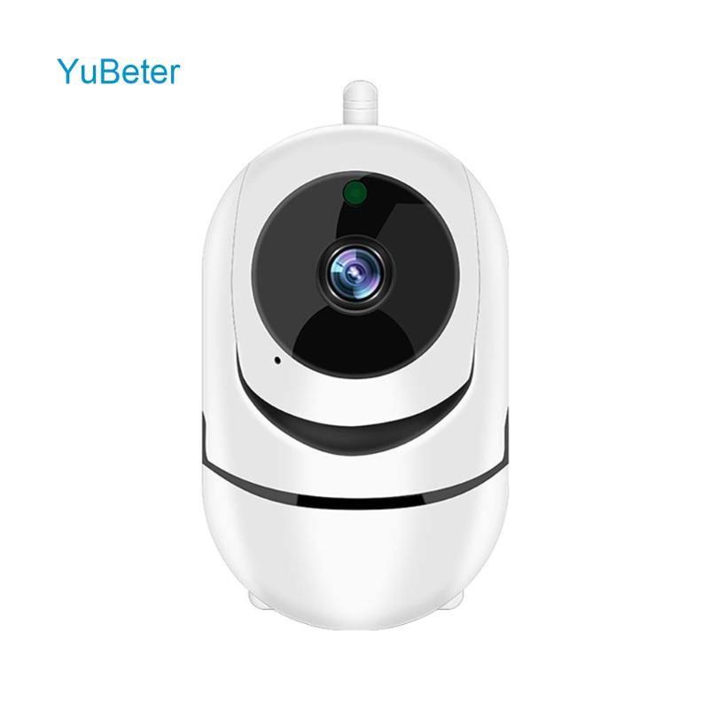 YuBeter Caméra réseau sans fil intelligent de suivi automatique de la caméra de surveillance vidéo humaine Home Sécurité Night Vision Two Way Audio