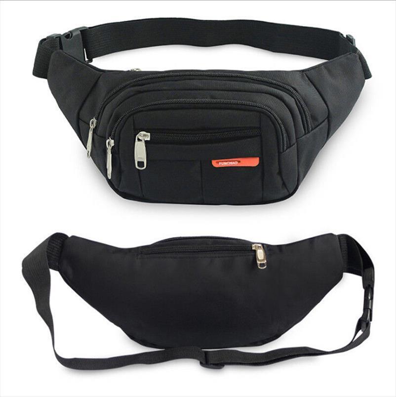 Cintura Nylon Money Newest Hip Mens 3 Popuu Cintura Hot Bag Purse Belt Fanny Cinturón Zippers Pack Sport 2019 Womens Wallet Travel Bag XQOLV