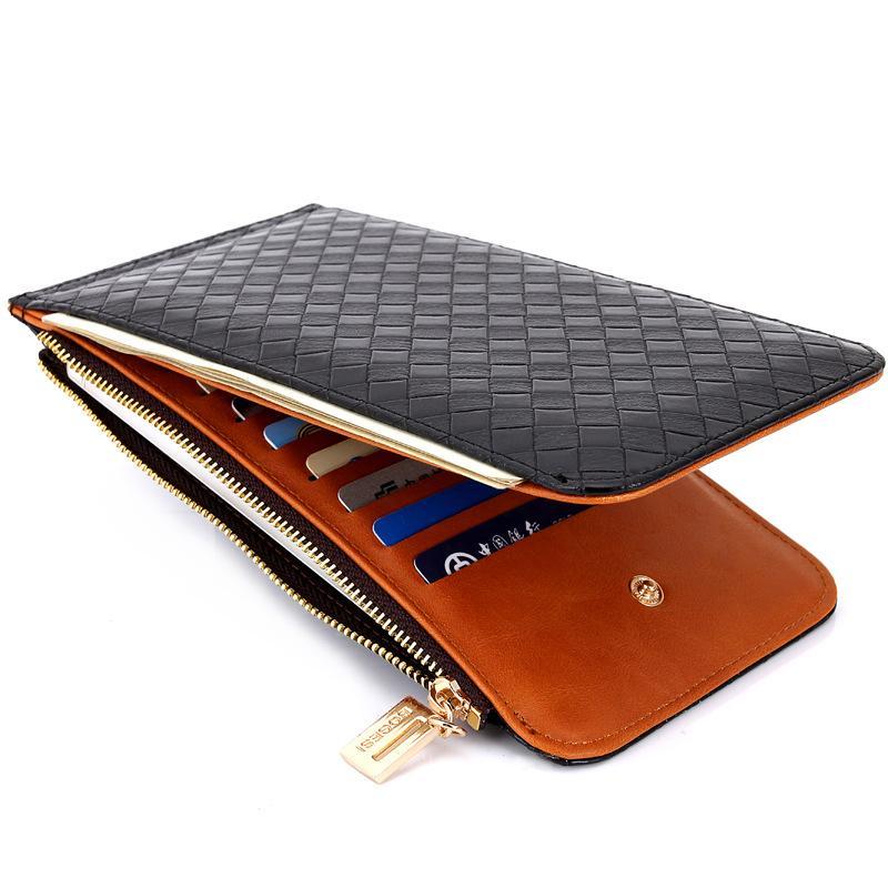 ModuKer PU Frauen Brieftasche für Satchel Designer Geldbörse Wasserdichte Lange Mode Tasche Luxus Frauen Brieftaschen Tagsack Leder CNAXM