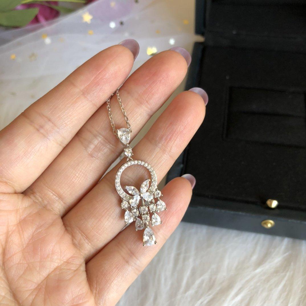 Designer Halskette für Frauen Ketten für Halskette Schmuck heißen Verkauf neuen heißen Mode-eleganten schönen einfachen modernen Stil 9HQY