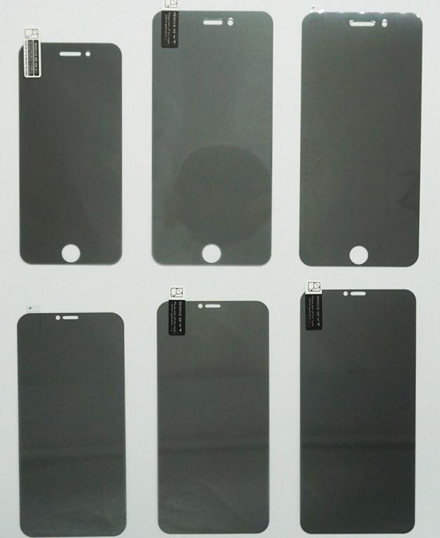 Privacidade de vidro temperado para iPhone X XS XR XS MAX Anti-Spy protetor de tela 9H 2.5D Dureza vidro temperado