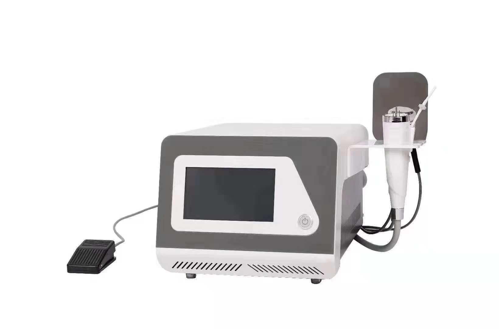 Fraccional de RF y de Microneedle RF Máquina de belleza fraccional micro-aguja de la piel RF facial de la espinilla del removedor de lavado de cara con 3 mangos