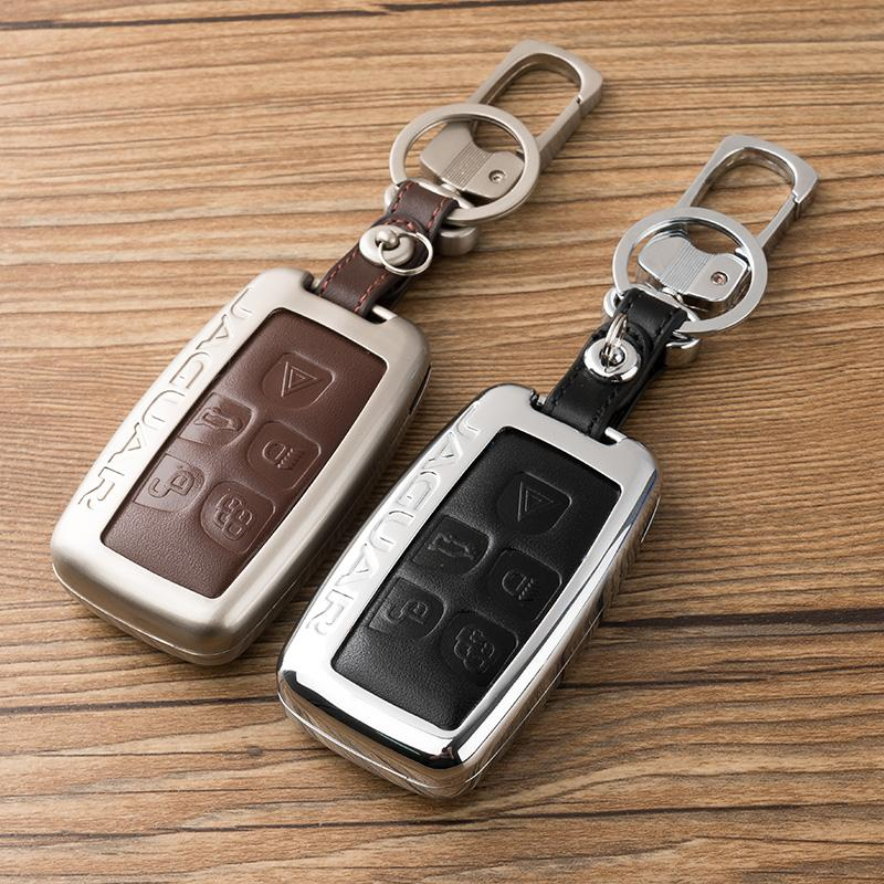 مفتاح حقيبة set لجاكوار XJ XE XJL XF F-TYPE سبائك الزنك مفتاح قذيفة حالة تغطية