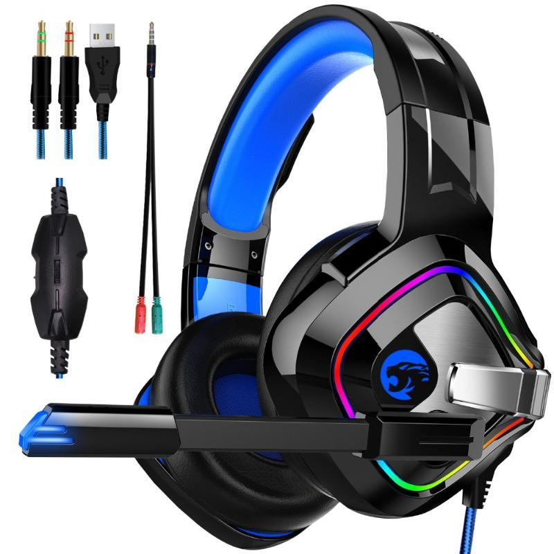 JOINRUN Gaming Headphones 4D Stereo RGB Headset with Microphone for New Xbox One/Laptop/PC Tablet Gamer