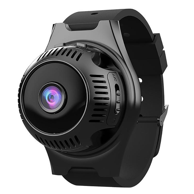Caméscopes 4K HD WiFi Mini Caméra Smart Watch Smart Watch 1080P IR Night Vision Enregistreur vidéo Caméscope Détection de mouvement Bracelet de micro-cam