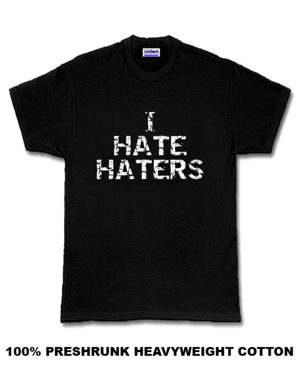 Eu Odeio aborrecedores Mayweather Preto Camiseta